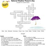 Here Is The Answer Key For The Printable Crossword Puzzle For   Groundhog Day Crossword Puzzles Printable
