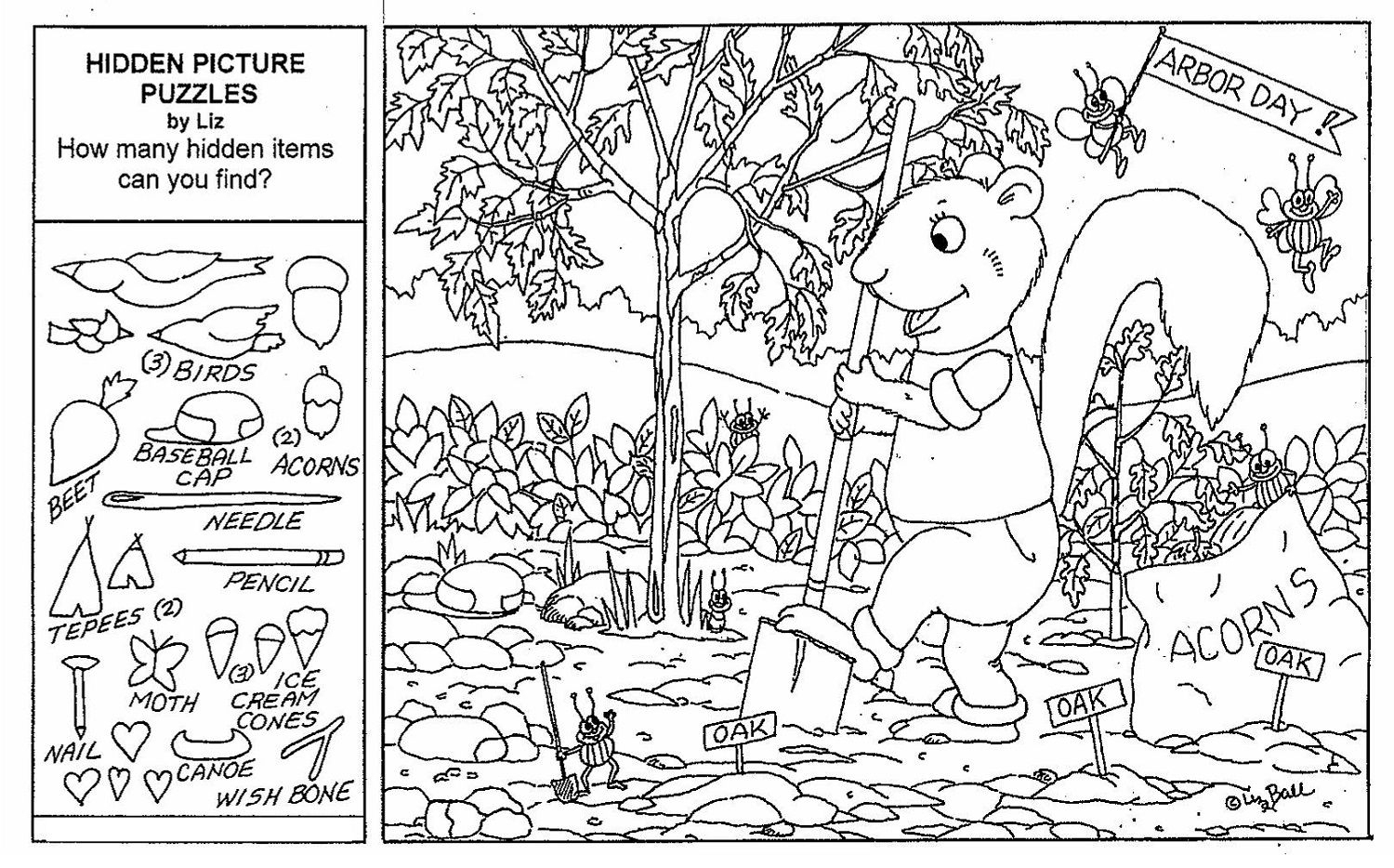 Hidden Objects Worksheets - Briefencounters Worksheet Template - Printable Hidden Object Puzzles