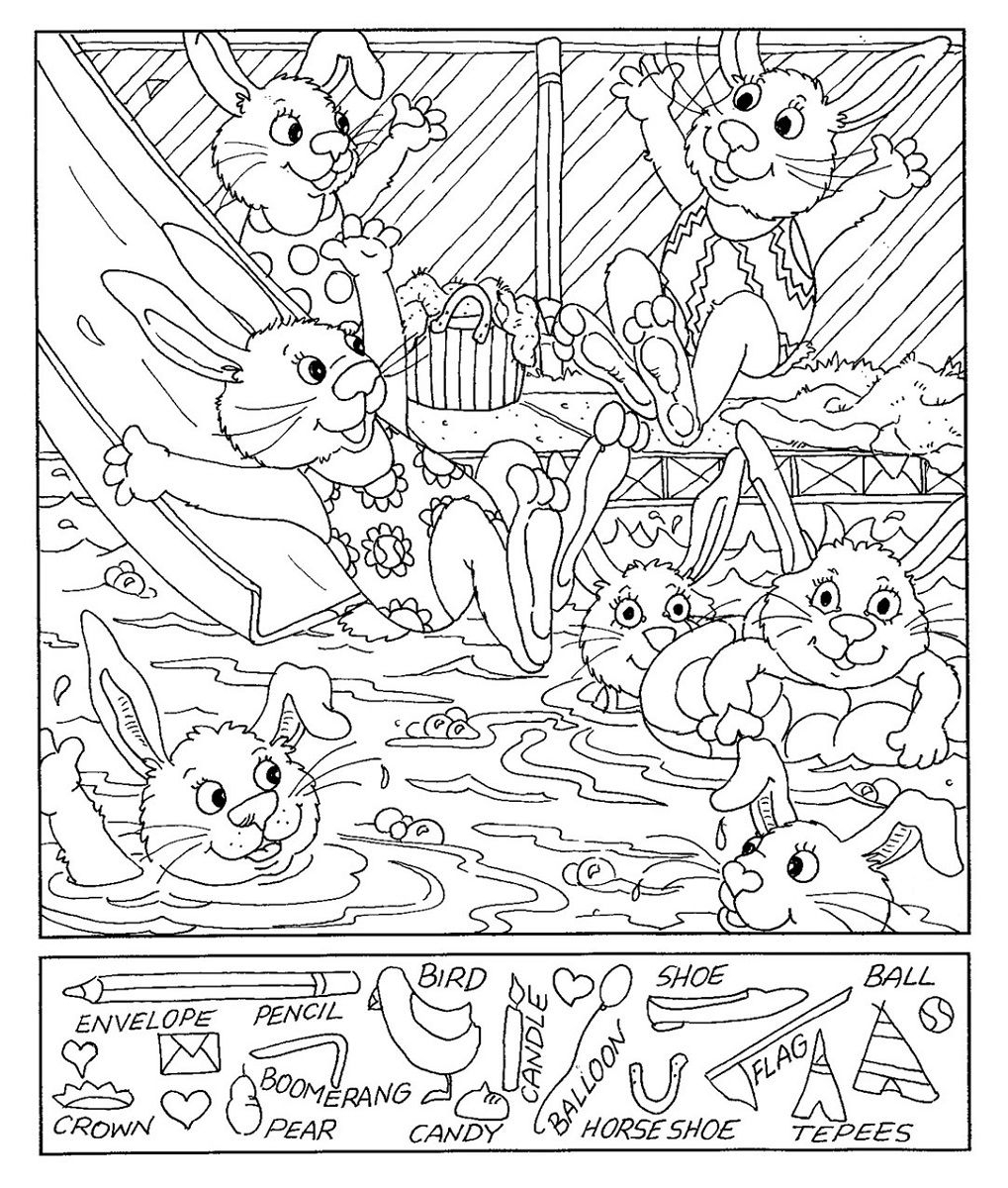 Hidden Picture Worksheet Free Worksheets Library | Download And - Printable Hidden Object Puzzles