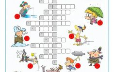 Printable Weather Crossword Puzzle