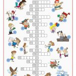 Irregular Verbs Crossword Puzzle Worksheet   Free Esl Printable   Printable Grammar Crossword Puzzles