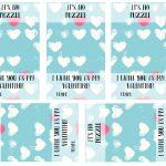 It's No Puzzle Valentines Printables   The Crafting Chicks   Printable Valentine Puzzle