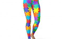 Puzzle Print Leggings