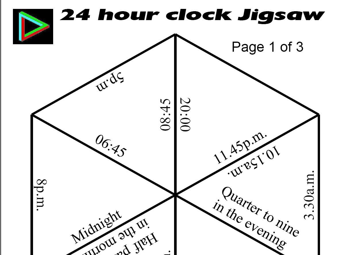 Jigsaws - Printable Tarsia Puzzles English