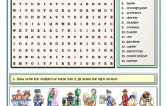Printable Esl Puzzles