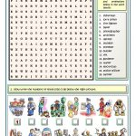 Jobs And Professions Puzzles Worksheet   Free Esl Printable   Printable Puzzles.com Answers