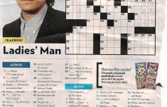 John Mayer – People Magazine Crossword I Love Doin People Magazine – Printable Crossword Puzzles From People Magazine