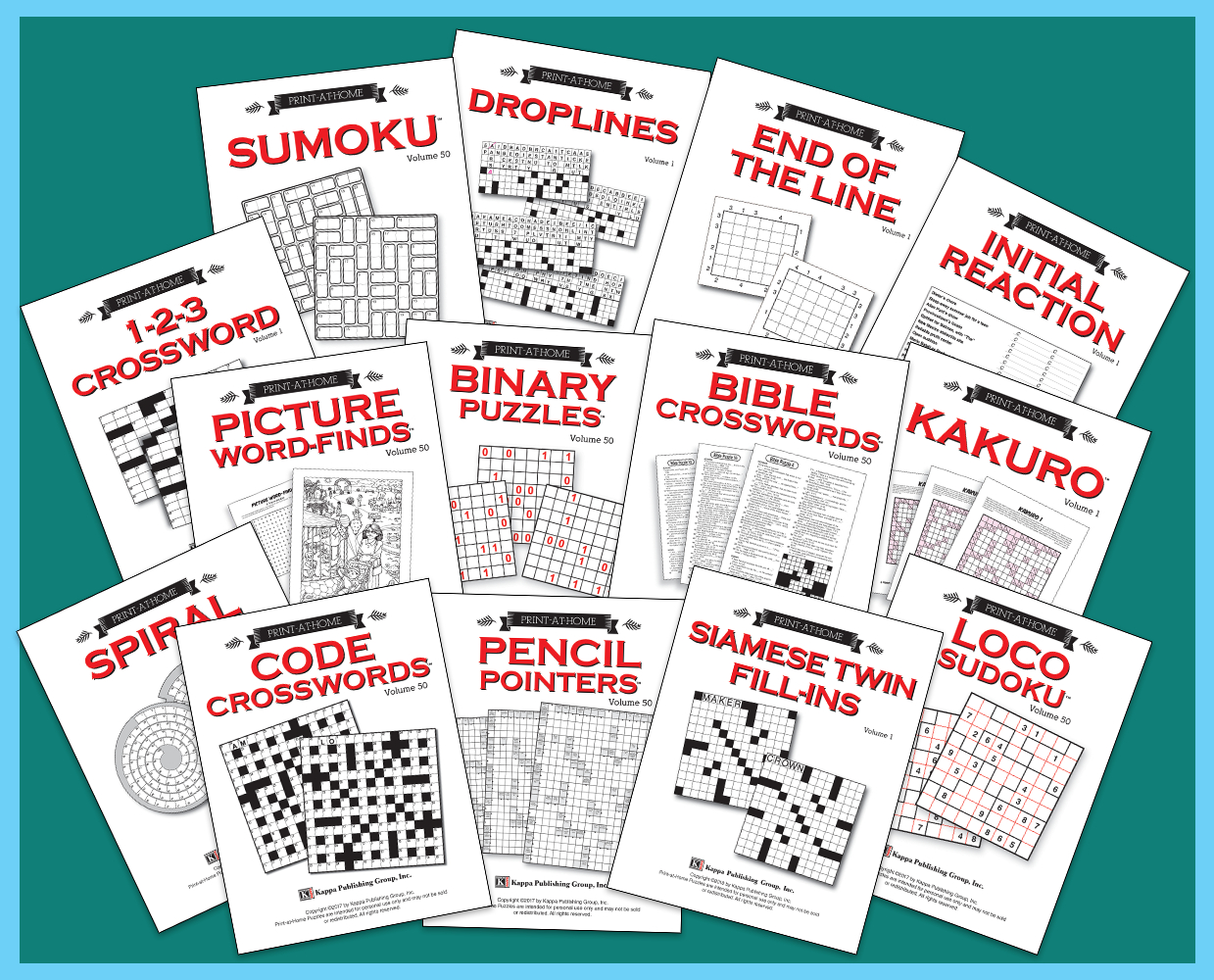 Kappa Puzzles – The Leading Publisher Of Puzzle Magazines - Printable Puzzles For Inmates