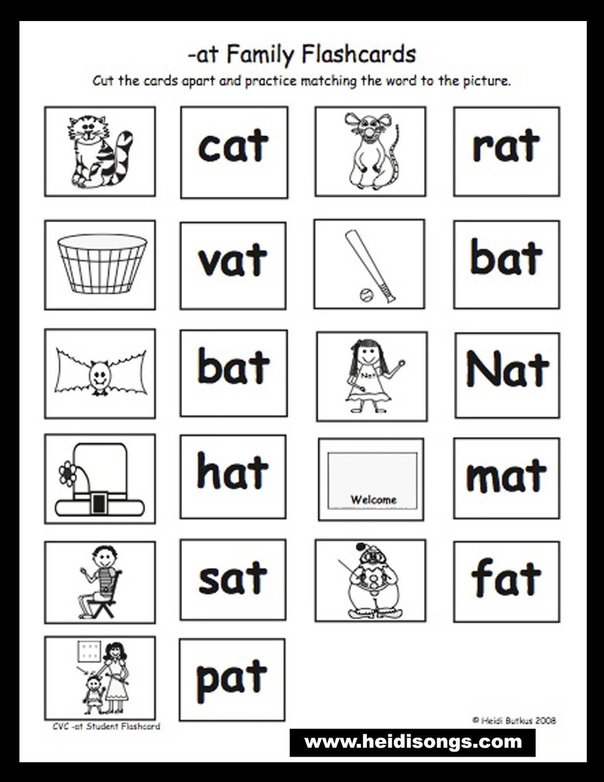 Kindergarten: Christmas Table Games Phonics Puzzles Printable - Printable Phonics Puzzles