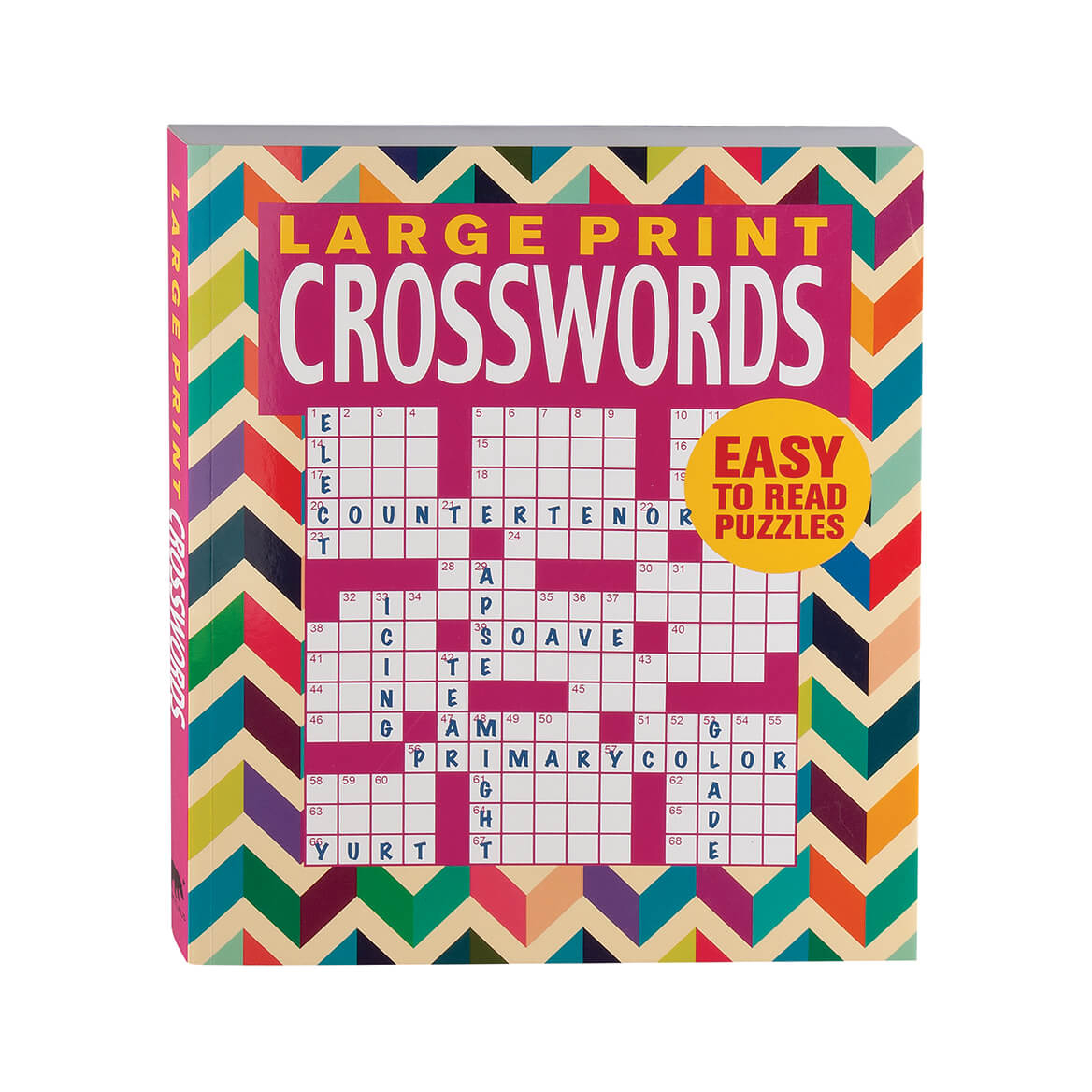 Large Print Crosswords Book - Puzzle Book - Miles Kimball - Large Print Crossword Puzzle Books For Seniors