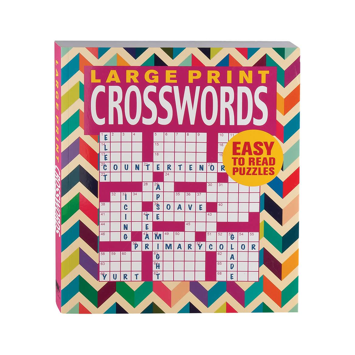 Large Print Crosswords Book - Puzzle Book - Miles Kimball - Large Print Crossword Puzzle Books