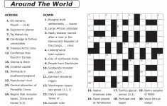 Large Print Crosswords Magazine – Lovatts Crossword Puzzles Games – Universal Crossword Puzzle Printable