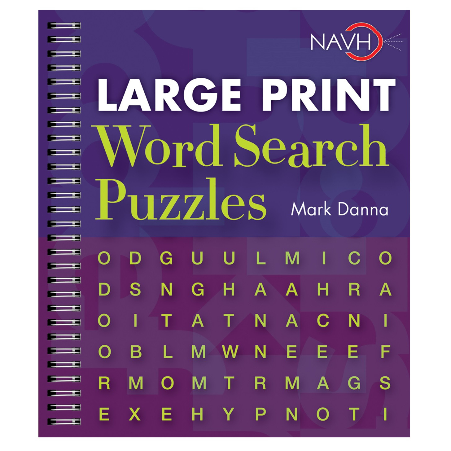 Large Print Word Search Puzzle Book - Printable Puzzle Booklet