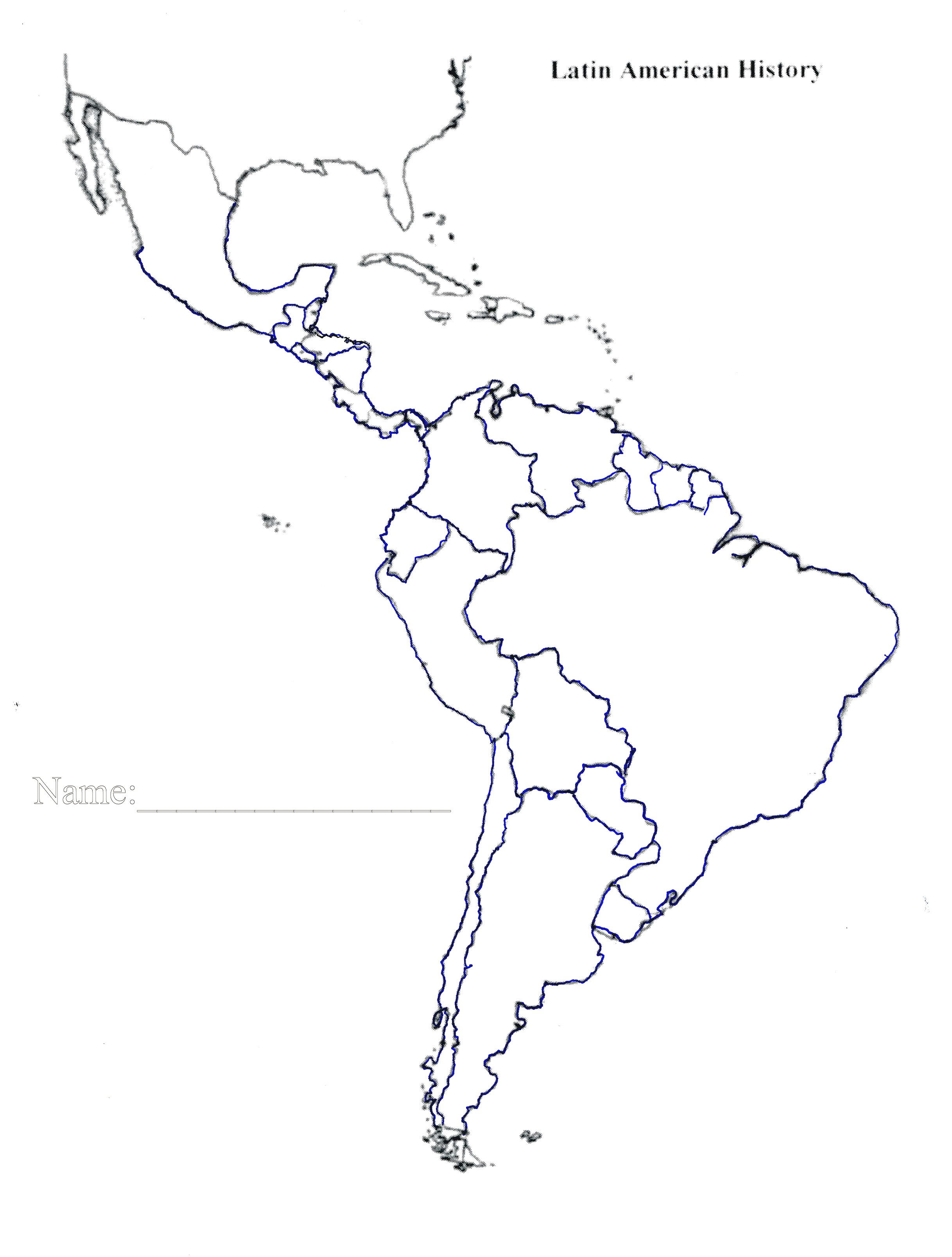 Latin America Map Quiz Best Of Roundtripticket Me - Printable Puzzle South America