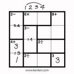 List Of Synonyms And Antonyms Of The Word: 4X4 Kenken   Printable Kenken Puzzles 4X4