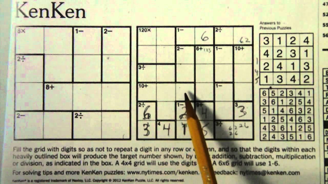 List Of Synonyms And Antonyms Of The Word: Kenken 6X6 - Printable Kenken Puzzles 6X6