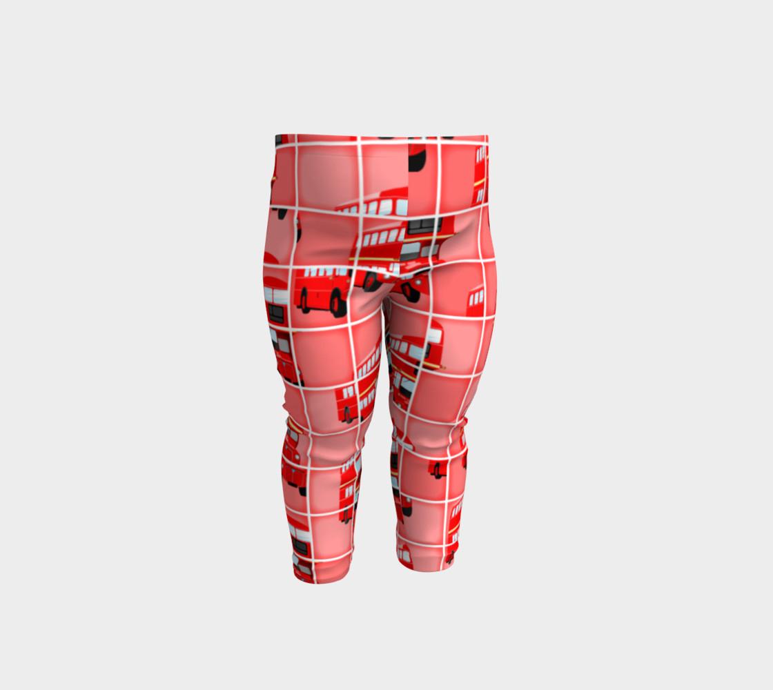 London Bus Pixel Puzzle, Baby Leggingsprawny | Shop | Art Of Where - Puzzle Print Leggings