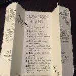 Marauder's Map Scavenger Hunt! Harry Potter Themed Clues For A   Printable Difficult Replica Crossword Clue