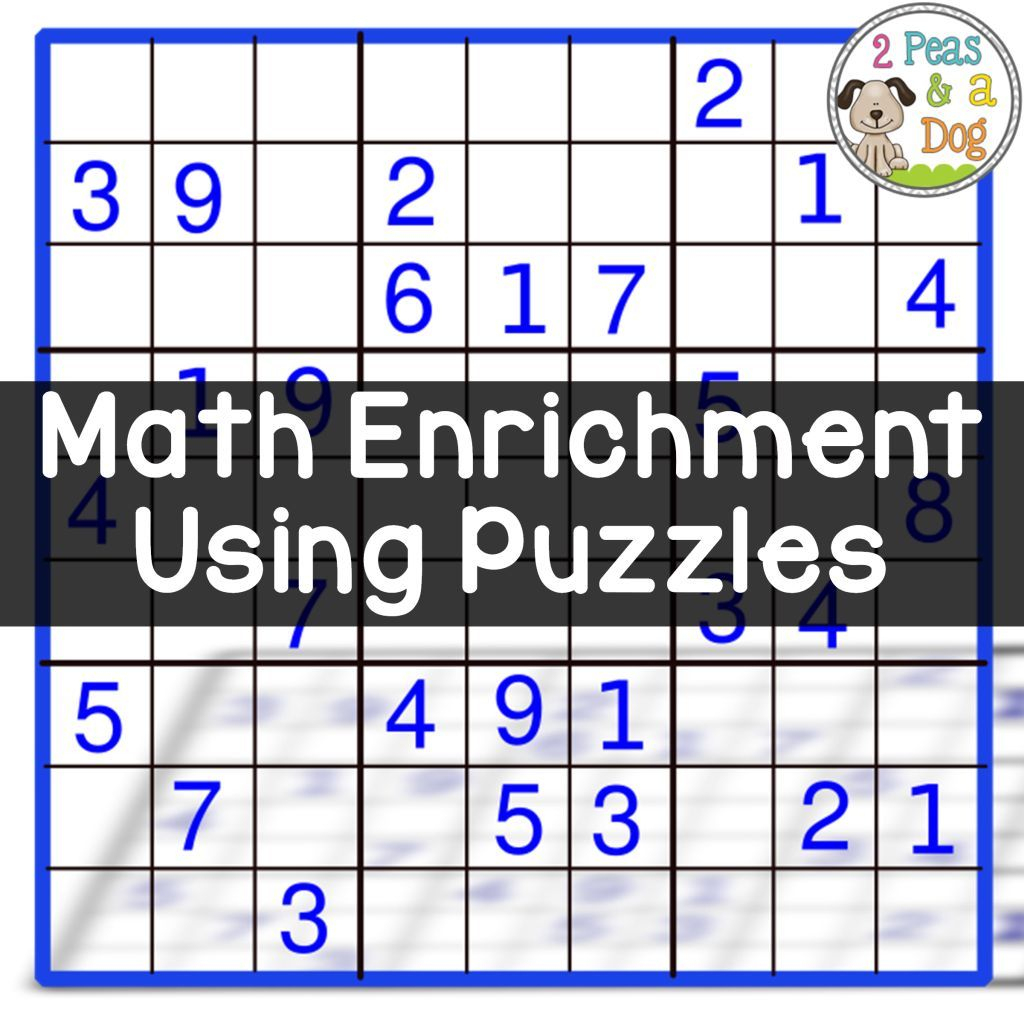 Math Enrichment Freebies - Kenken Puzzles   Teaching   Math - Printable Kenken Puzzles