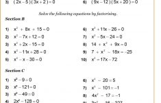 Printable Math Puzzles For High School