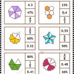 Math Skills Training Visual Puzzle Or Worksheet. Circle The Correct   Worksheet Visual Puzzle