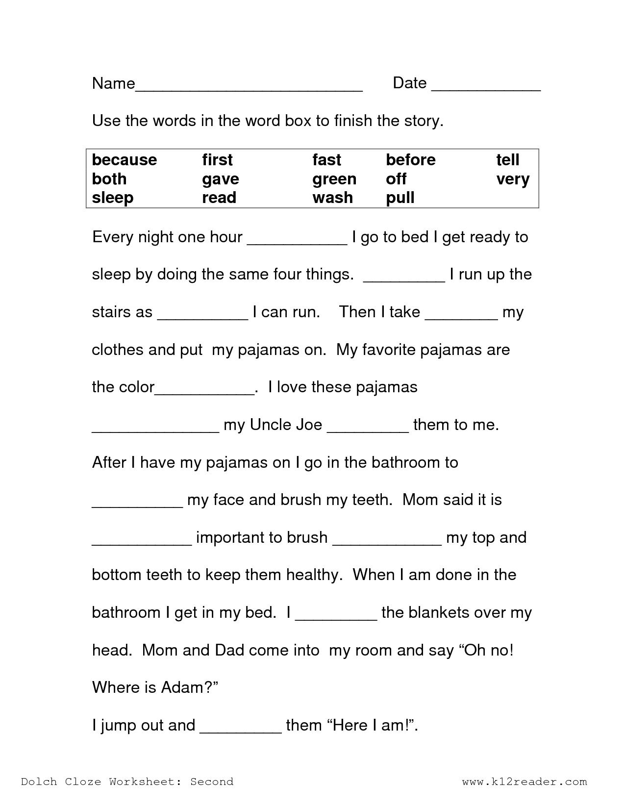 Math Worksheet: 2Nd Grade Science Worksheets Free Printable Easy - Printable Crossword Puzzle For 2Nd Graders