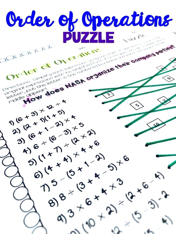 Maths Puzzles Worksheets Fun Math High School Pdf 6Th Grade Ks3 For - Printable Math Puzzles Pdf