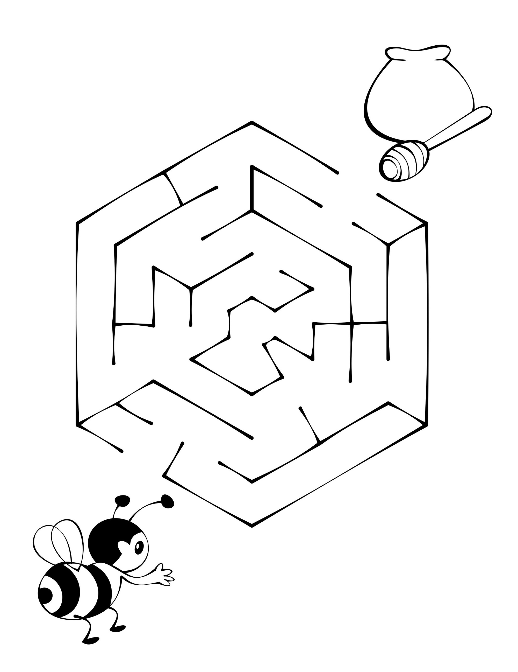 Maze Puzzle For Kids To Print | Kiddo Shelter - Printable Labyrinth Puzzles