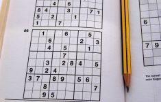 Printable Sudoku Puzzles 1 Per Page