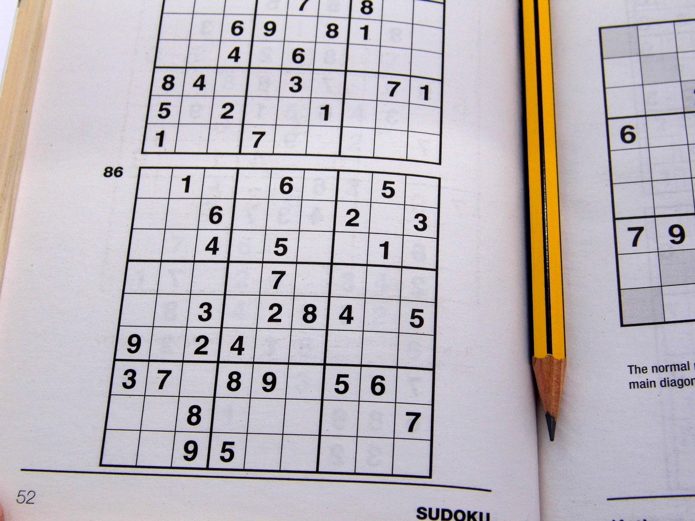 Medium Printable Sudoku Puzzles 6 Per Page – Book 1 – Free Sudoku - Printable Sudoku Puzzles 1 Per Page