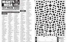 Printable Cryptic Crossword Puzzles Nz
