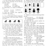 Mensa Test #4   Printable Mensa Puzzles