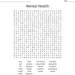 Mental Health Word Search   Wordmint   Printable Mental Health Crossword Puzzle