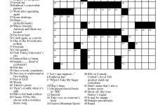 Printable Crossword Puzzles 2012