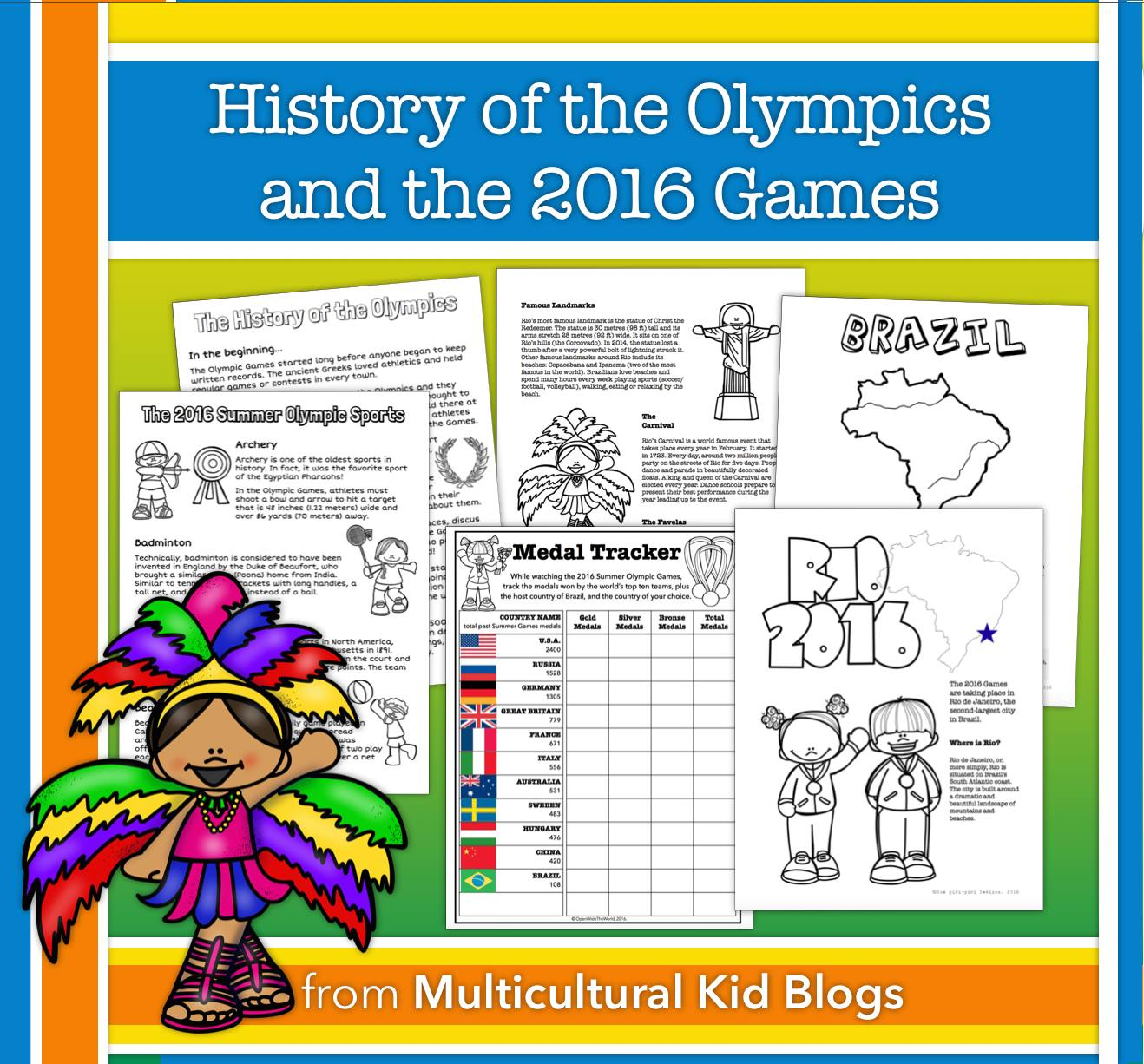 Mommy Maestra: Comprehensive Summer Games Unit & Free Printable - Printable Lexicon Puzzles