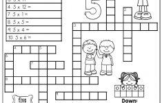 Printable Crossword Puzzles Grade 4