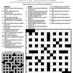 National Post Cryptic Crossword Forum: June 2013 In Mr. X 4   Printable Crossword Puzzles 2013