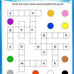 Nhl Crossword Puzzle Printable Crosswords All   Free Printable   Crossword Puzzles For Kindergarten Free Printable