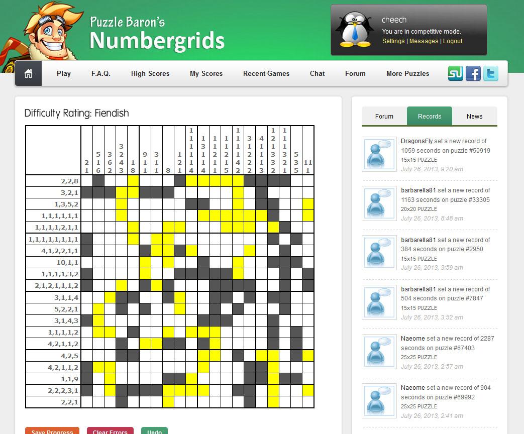Number Puzzles | Portfolio Categories | Puzzle Baron - Printable Rosetta Puzzles