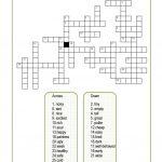 Opposite Adjectives Crossword Worksheet   Free Esl Printable   Adjectives Crossword Puzzle Printable