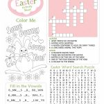 Party Simplicity Free Easter Printables Kids Coloring Pages And More   Free Printable Easter Crossword Puzzles For Adults