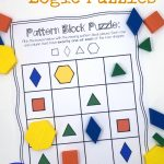 Pattern Block Puzzles {Free} – Printable Thinking Puzzles