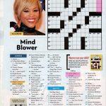 People Magazine Crossword Puzzles To Print | Puzzles In 2019   Printable Crossword Puzzles Celebrities