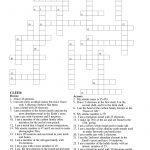 Periodic Table Crossword Puzzle | Teaching Resources | Crossword   Free Printable Crossword Puzzles For 7Th Graders