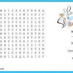 Photo : Baby Shower Crossword Puzzle Image   Printable Baby Shower Crossword Puzzle Game