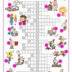 Phrasal Verbs Crossword Puzzle Worksheet   Free Esl Printable   Worksheet Verb Puzzle