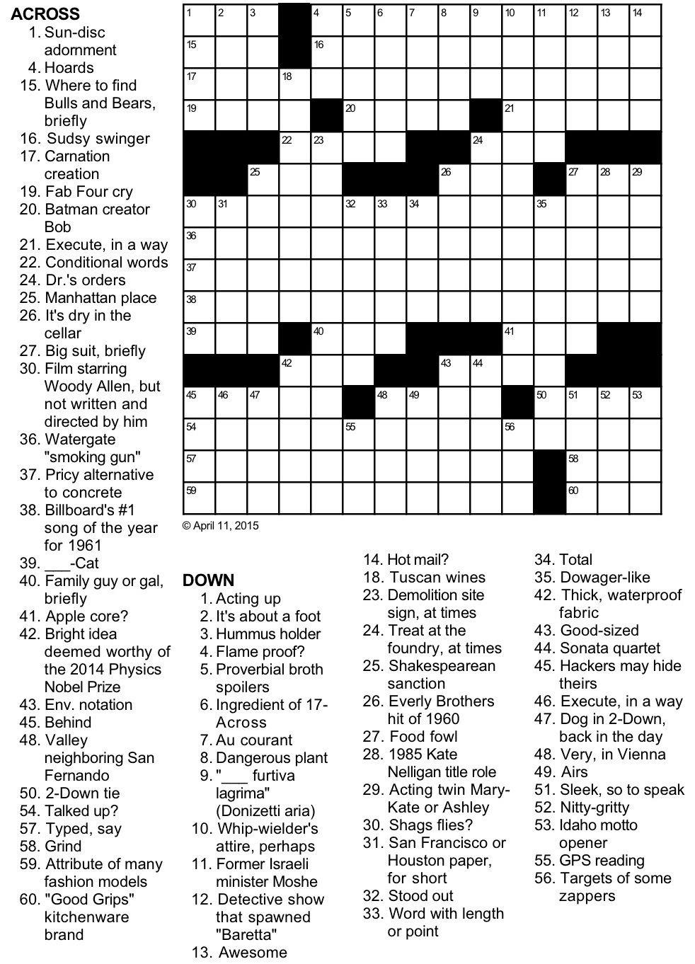 Pinpatti Mcquaide-Smith On Mom | Crossword - Printable North Of 49 Crossword Puzzles