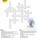 Pinterest   Groundhog Day Crossword Puzzles Printable