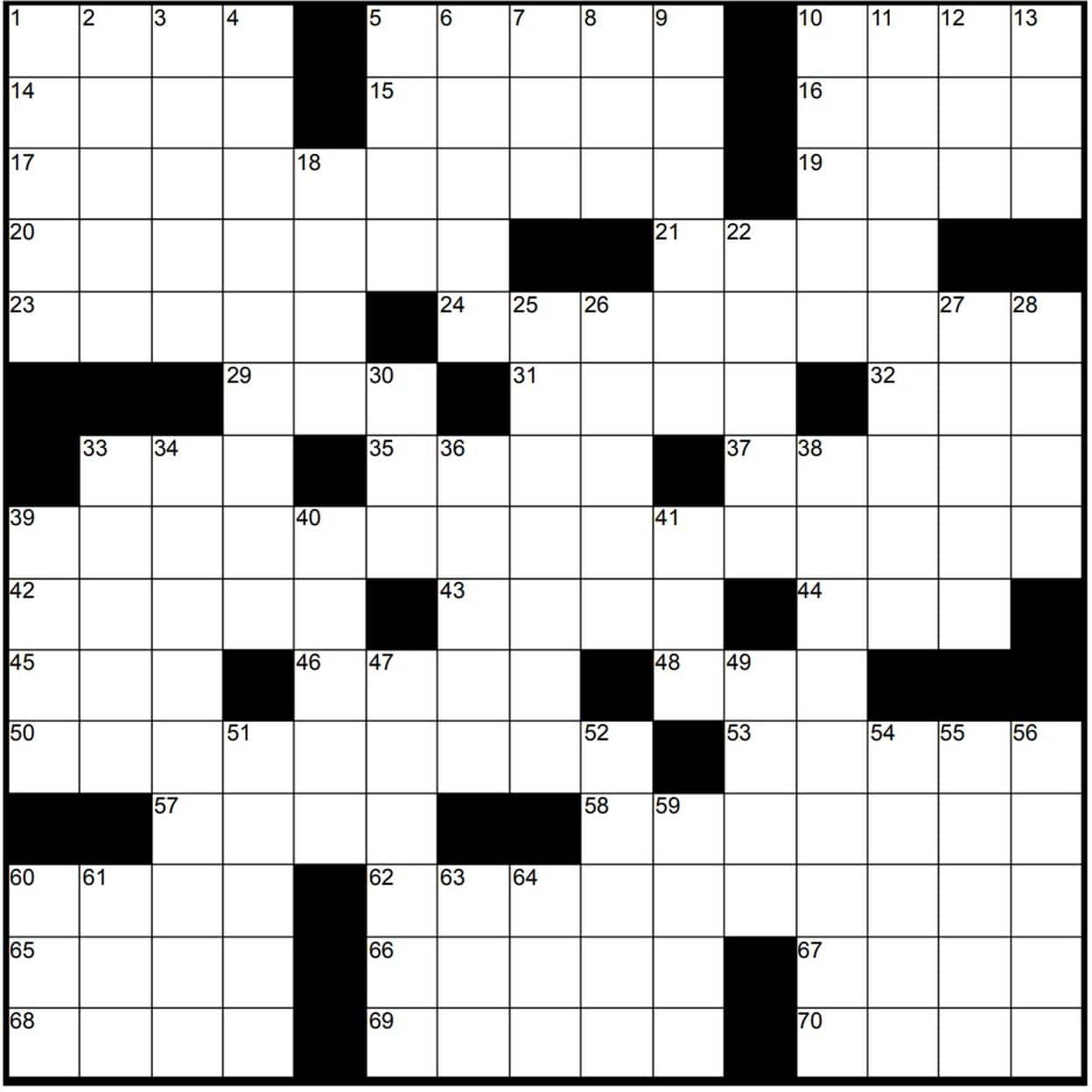 Play Free Crossword Puzzles From The Washington Post - The - Printable Crossword Puzzles May 2019