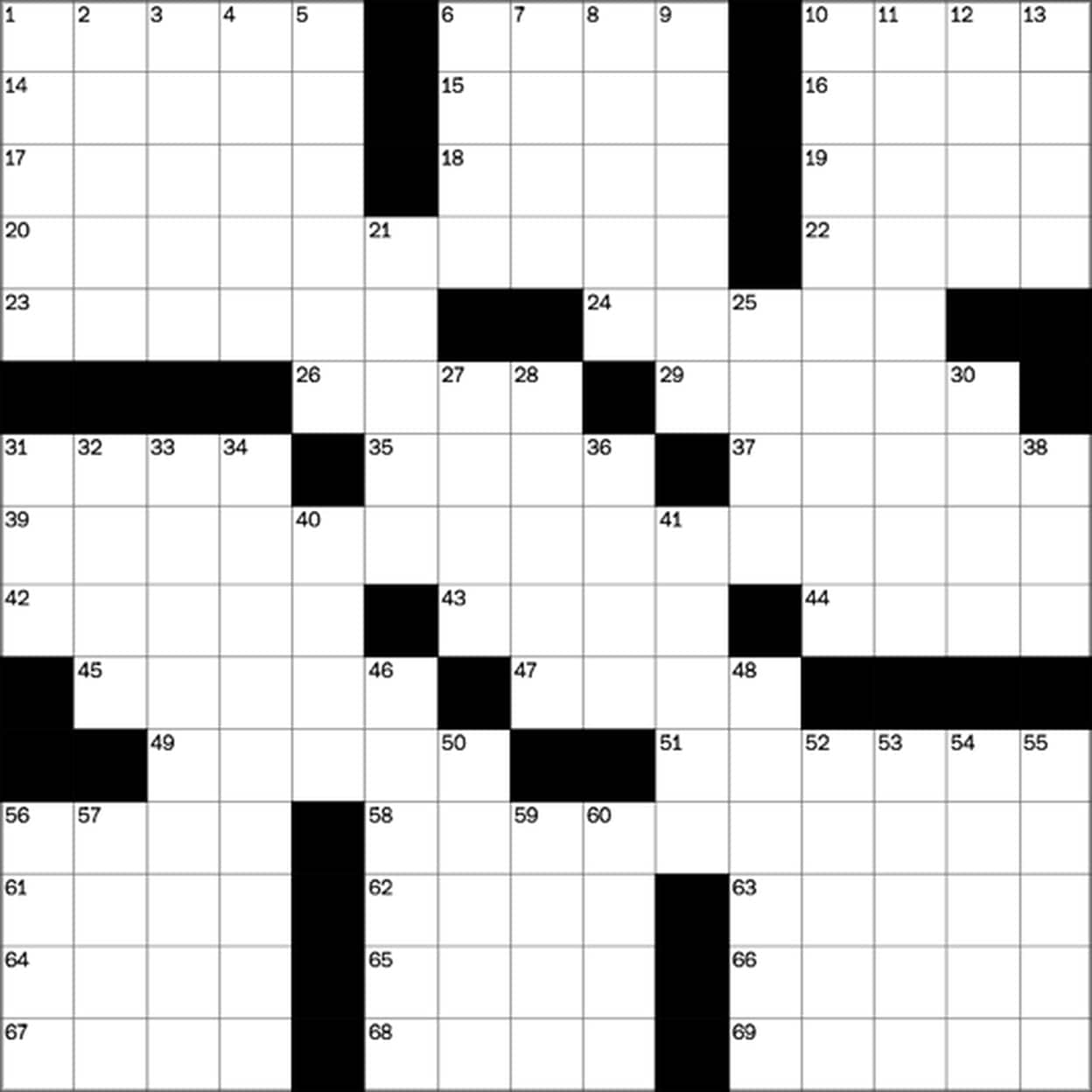 Play Free Crossword Puzzles From The Washington Post - The - Printable Crossword Puzzles Wsj